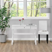 Ameriwood Home Campaign Desk, White (9258096COM)