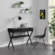 Ameriwood Home Campaign Desk, Black (9258396COM)