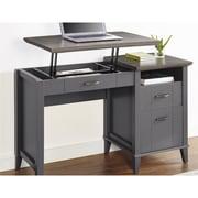 Ameriwood Home Quinn Lift-Top Desk, Gray (9563096COM)