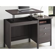 Ameriwood Home Adler Lift-Top Desk, Brown (9564196COM)
