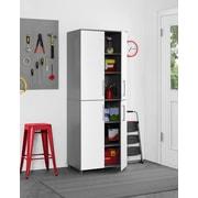 SystemBuild Latitude Tall Cabinet, White (7470403COM)