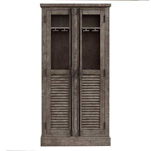 Astonishing Systembuild Latitude 2 Door Base Cabinet Gray 7471408 Interior Design Ideas Ghosoteloinfo