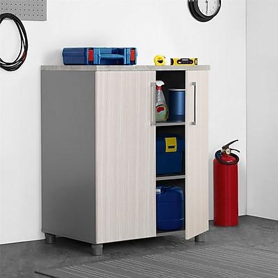 SystemBuild Latitude 2 Door Base Cabinet, Natural (7471411COM)