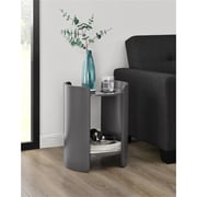 Ameriwood Home Turner Side Table, Gray (5030096COM)