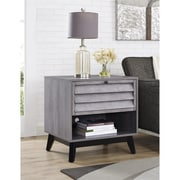 Ameriwood Home Vaughn Accent Table, Gray Oak (5029196COM)