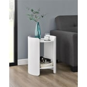 Ameriwood Home Turner Side Table, White (5030196COM)