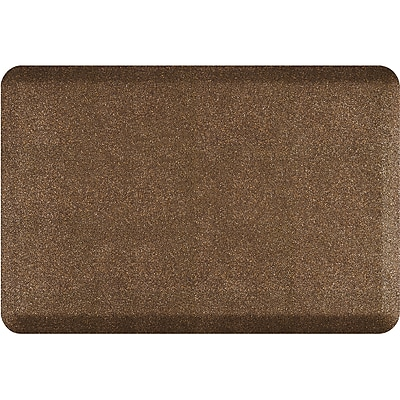 Wellnessmats® Granite 3' x 2' Anti-Fatigue Floor Mat,Granite Copper (32WMRGC)