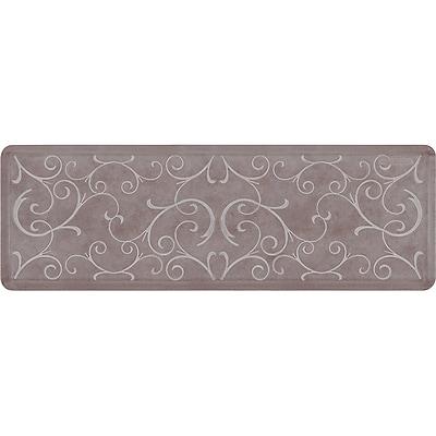 Wellnessmats® Estates Bella 6' x 2' Anti-Fatigue Floor Mat Driftwood (EB62WMRWBRN)