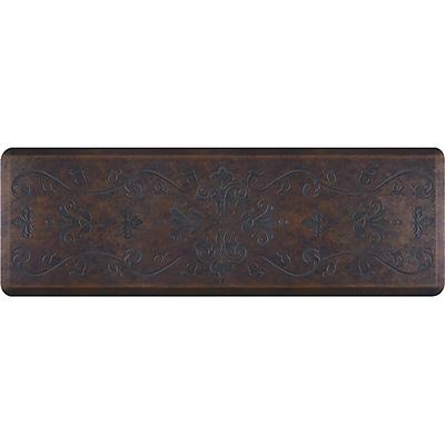 Wellnessmats® Estates Entwine 6' x 2' Anti-Fatigue Floor Mat, Harbor (EE62WMRBBRN)