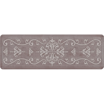Wellnessmats® Estates Entwine 6' x 2' Anti-Fatigue Floor Mat Driftwood (EE62WMRWBRN)