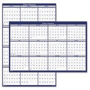 "House Of Doolittle Laminated Write-On/Wipe-Off Jumbo Yearly Wall Calendar, 66"" x 33"" (AZHOD3962)"