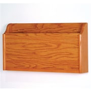 Wooden Mallet X-Ray Wall Pocket in Medium Oak (WDNM403)