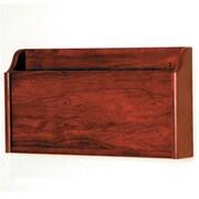 Wooden Mallet X-Ray Wall Pocket in Mahogany (WDNM402)