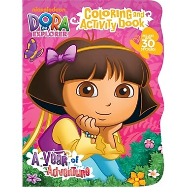 Bendon Publishing Intl Dora The Explorer Coloring & Activity Book With St (JNSN69271)