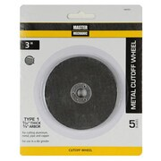 Disston 3 x 0.09 in. Master Mechanic Cut Wheel - 5 Per Pack (TRVAL107332)