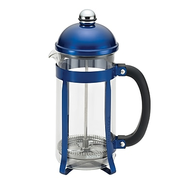BonJour 8 Cup Maximus French Press, Blue (51282)