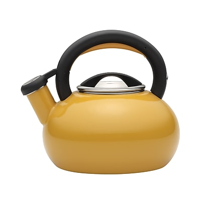 Circulon 1.5 qt. Sunrise Teakettle, Mustard Yellow (51245)