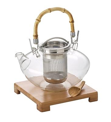 BonJour Zen Glass Teapot, Glass (53408)