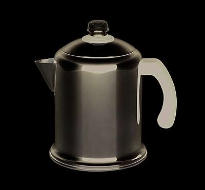 Farberware 8 Cup Stovetop Percolator, Stainless Steel (50124)