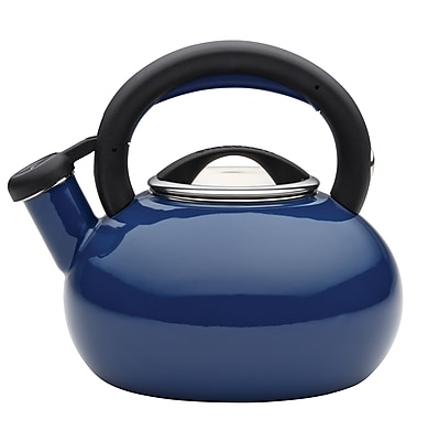 Circulon 1.5 qt. Sunrise Teakettle, Navy Blue (51392)