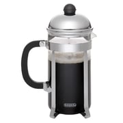 BonJour 3 Cup/12.7 oz. Monet French Press, Stainless Steel (53333)