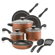 Paula Deen Cookware 11 Piece Cookware Set, Copper (21993)