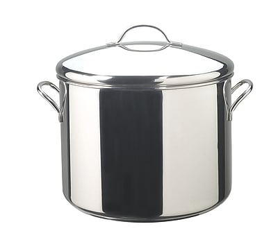 Farberware Classic Series 16 qt. Covered Stockpot, Stainless Steel (50009)