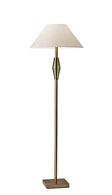 Adesso Incandescent Murphy Floor Lamp Brass (5167-21)