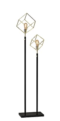 Adesso Vintage Otto Floor Lamp Gold (3012-04)