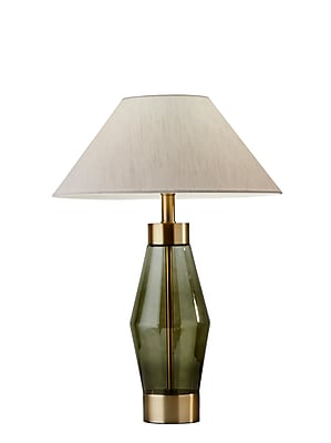 Adesso Incandescent Murphy Table Lamp Brass (5166-21)