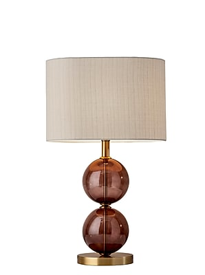 Adesso Incandescent Donna Tall Table Lamp Brass (4148-21)