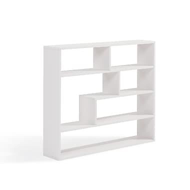 Danya B Large Rectangular Shelf Unit, White (XF151012WH)