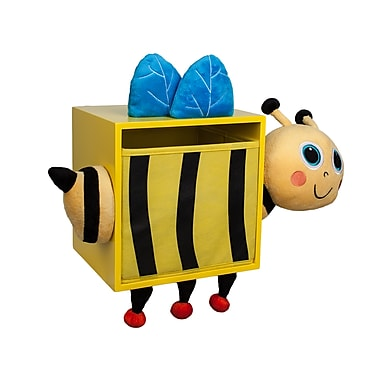 Danya B. Plush Bee Kids Wall Storage Bin (BP4017BE)