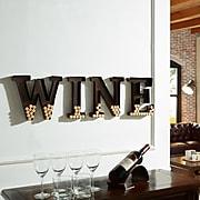 "Danya B. Metal Wall Mount ""Wine"" Letters Cork Holder (HG10196)"