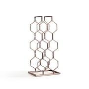 Danya B. Copper Electroplated 8 Bottle Wine Rack (HG11631)