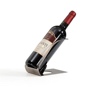 Danya B - Porte-bouteille de vin plaqué par galvanoplastie, argenté (HG11751)