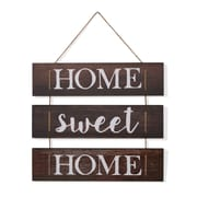 "Danya B. ""Home Sweet Home"" Wooden Wall Hanging with Rope (CU25714)"