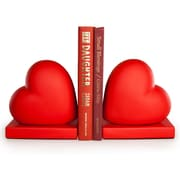 Danya B. Red Hearts Bookend Set (CSK8043)