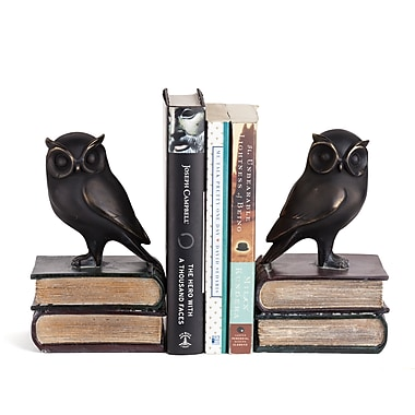 Danya B Owl on Books Bookend Set, 2/Pack (DS780)