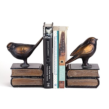 Danya B Birds on Books Bookend Set, 2/Pack (DS781)