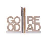 """Danya B. """"Good Read"""" Wooden Bookend Set (KS19003)"""