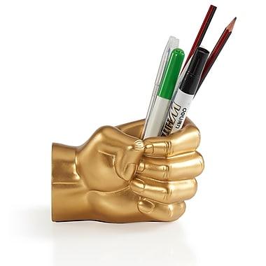 Danya B Fist Pen Holder, Gold (NY8040GLD)