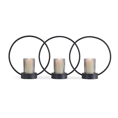 Danya B. Set of 3 Ring Votive Candle-Holders (SE116) 24215899