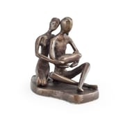 Danya B. Couple with Baby Bronze Sculpture (ZD11085)