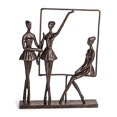 Danya B Ballerinas on Frame Bronze Sculpture (ZD13123)