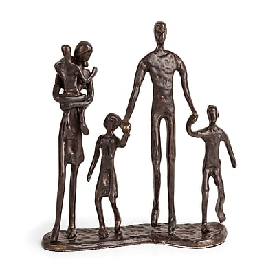 Danya B. Family of Five Bronze Sculpture (ZD13128)