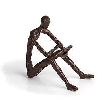Danya B Leisure Reading Bronze Sculpture (ZD14010)