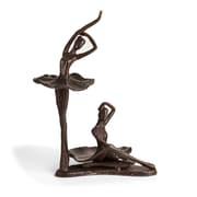 Danya B. Ballerina Duo Bronze Sculpture (ZD15642)