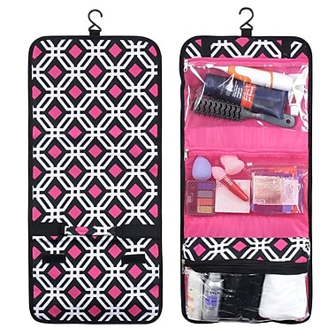 Zodaca Hanging Travel Cosmetic Toiletry Carry Organizer Bag