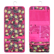 Zodaca Travel Hanging Cosmetic Carry Bag Toiletry Wash Organizer Storage - Yellow Paisley